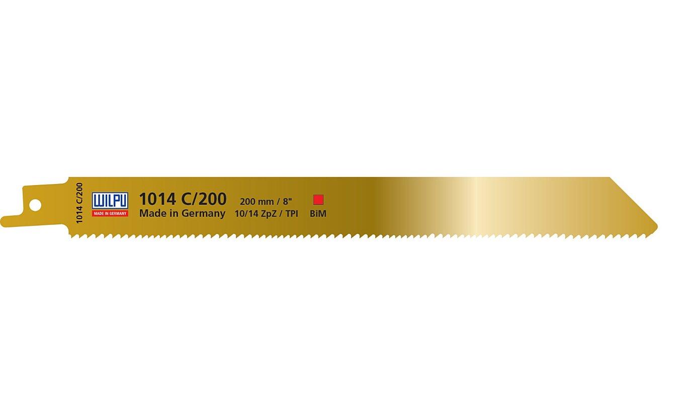 Reciprozaagbladen, 1014C/200, Wilpu. Voor alle houtsoorten met metaal(-resten)