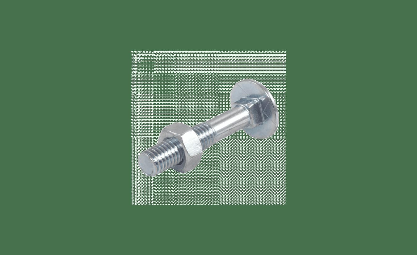 Slotbouten DIN 603/555 verzinkt M 10x300 - 25 stuks