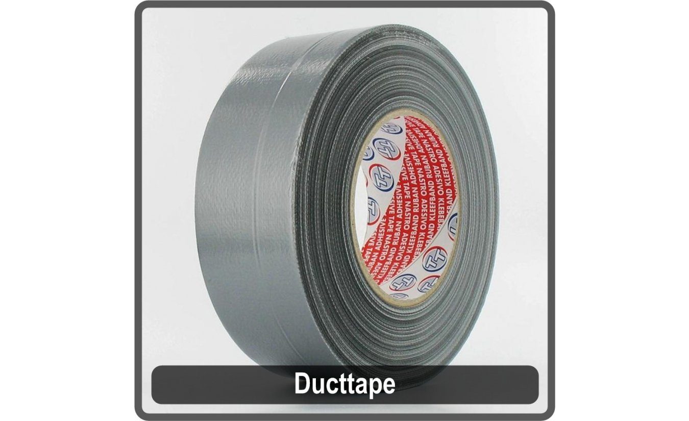Ducttape universeel 50mmx50m