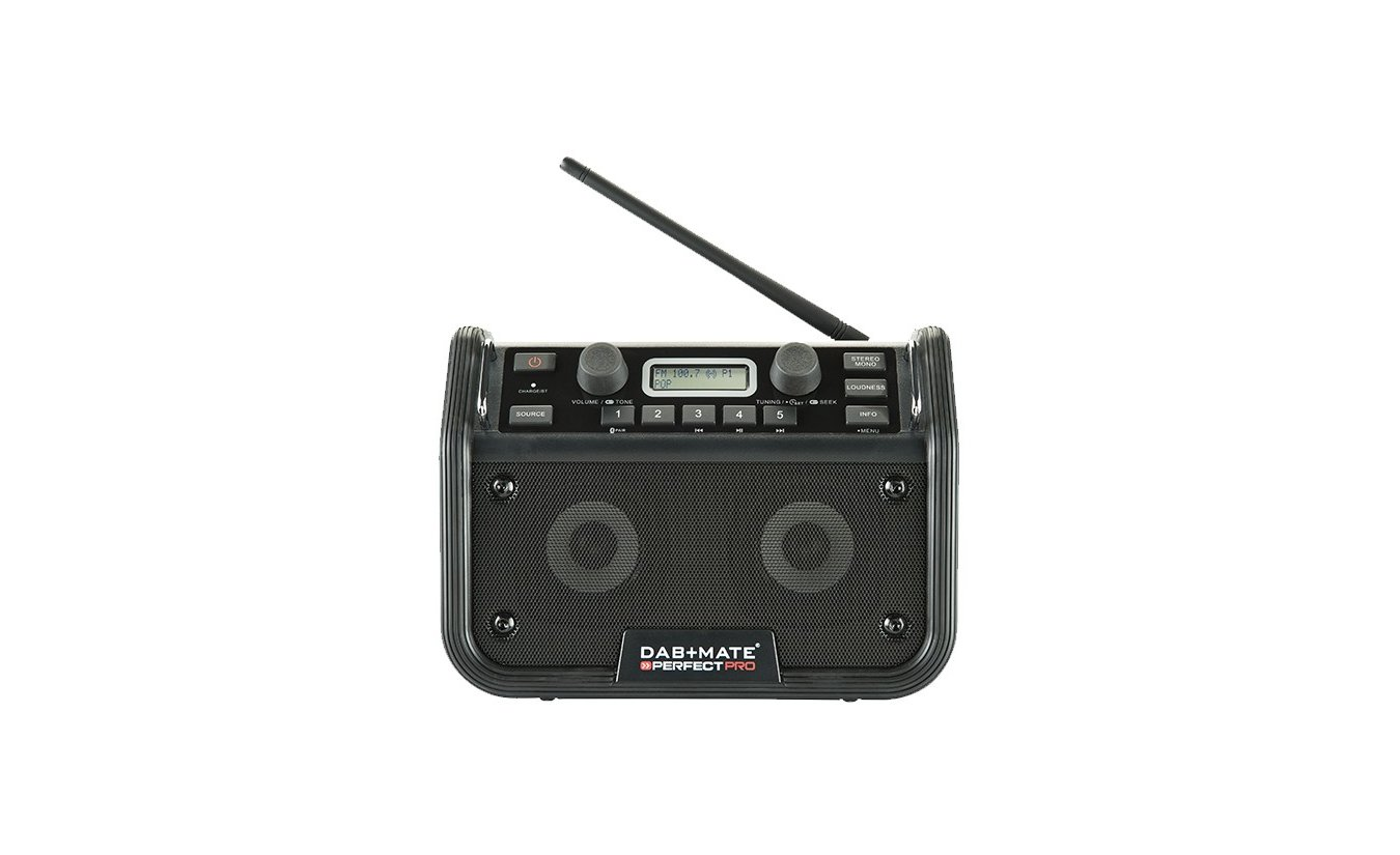 Perfectpro DAB+mate bouwradio oplaadbaar