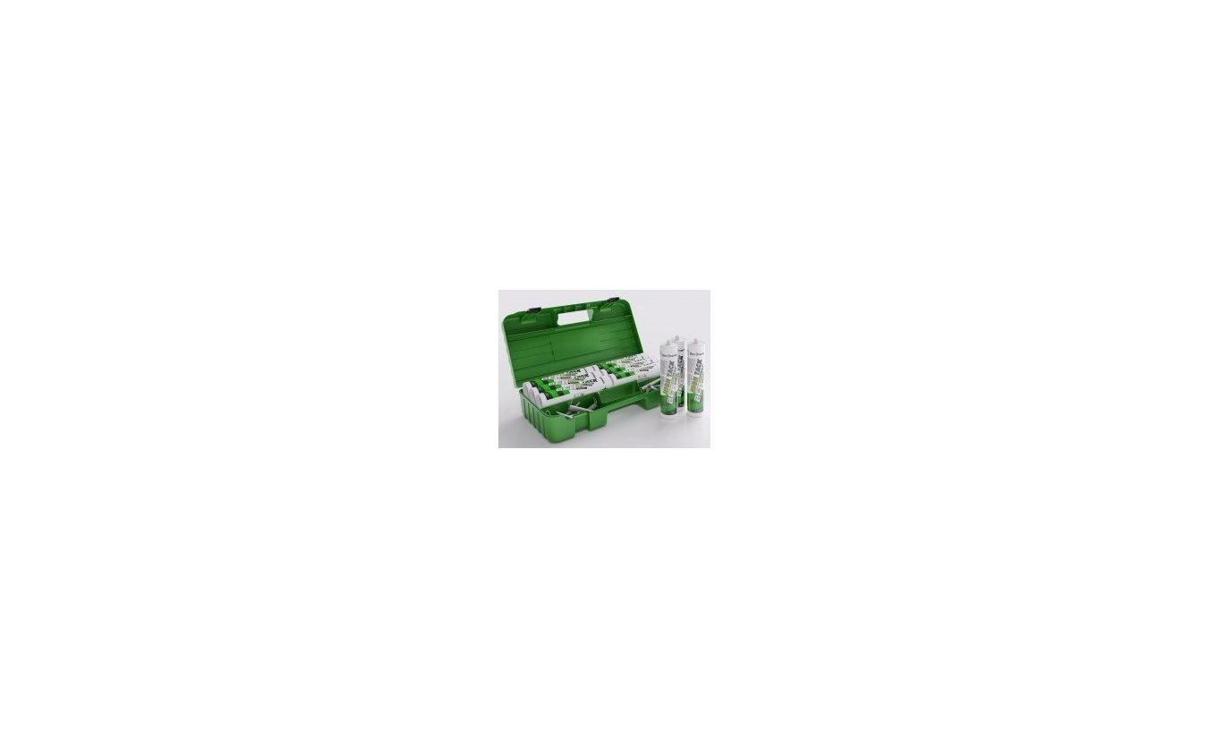 Den Braven Zwaluw High Tack wit 12x290ml in gratis Smart BOX